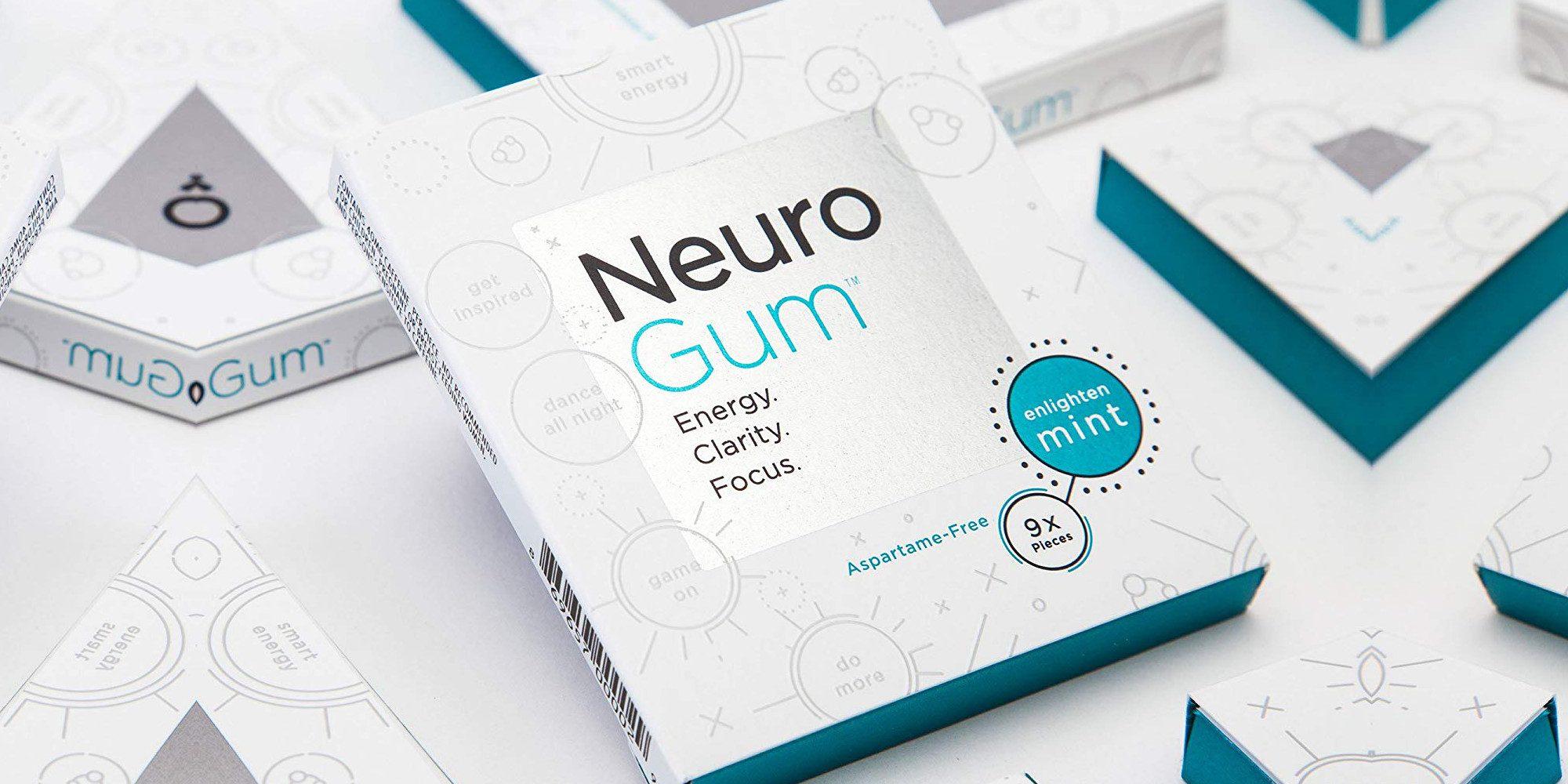 NeuroGum z kofeiną i B12 zapewnia ostrość przez cały dzień: 12 sztuk w opakowaniu 30 USD (25% zniżki)