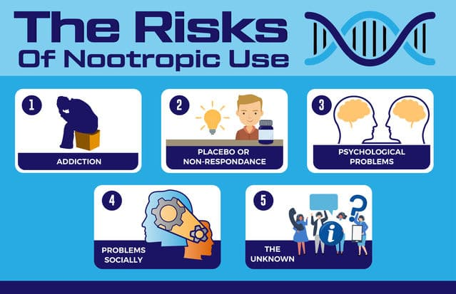 Niebezpieczeństwa związane z użyciem nootropów